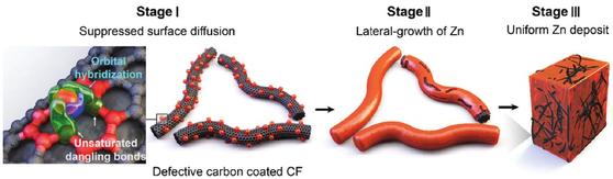 고밀도 탄소 결함 계면을 통한 비정상적 돌기 형성 억제 기술 개요도. [KAIST 제공]