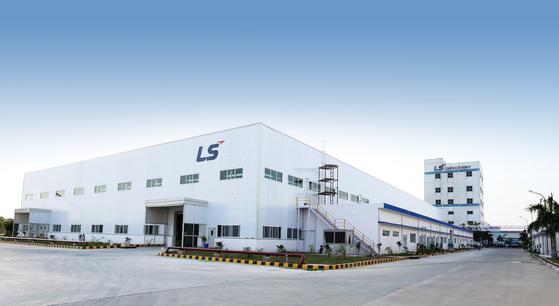 LS전선의 인도 LSCI 사업장 전경. 사진 LS전선