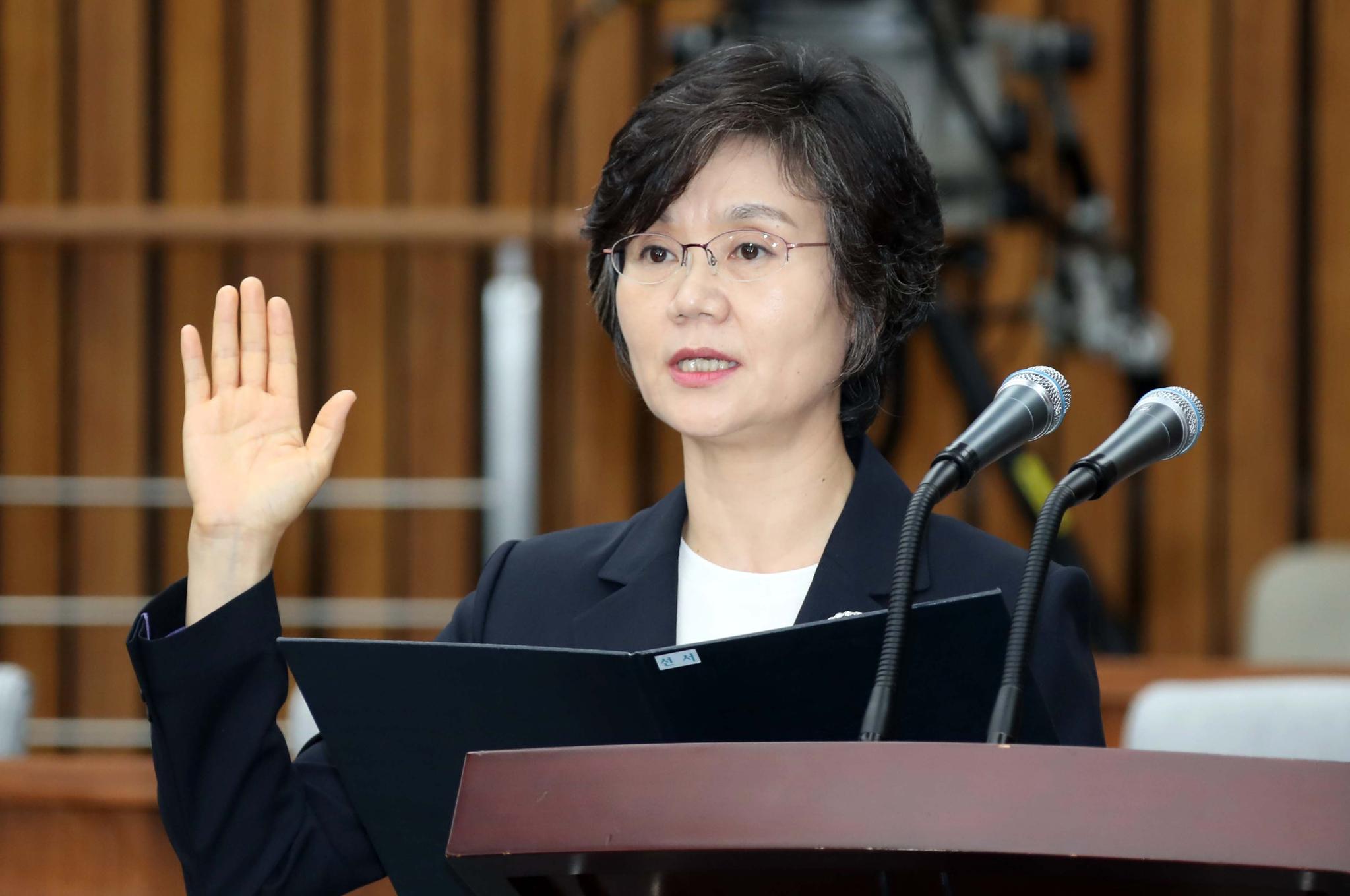 중앙선거관리위원장에 내정된 노정희 대법관. 변선구 기자