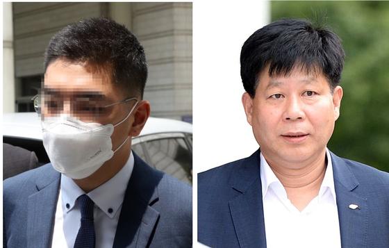 이모 전 채널A 기자(왼쪽)와 이철 전 VIK 대표. [연합뉴스·뉴시스]