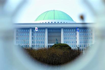 서울 여의도 국회의사당 전경. 중앙포토