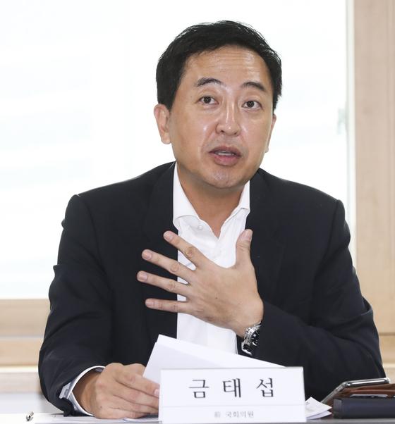 금태섭 전 더불어민주당 의원. 임현동 기자