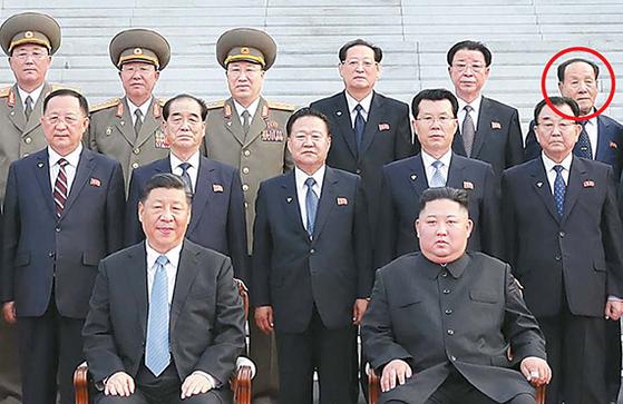 조연준, 시진핑 방북 때도 배석