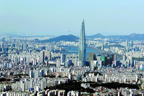 [사진] 강남4구 아파트값 변동률 0%
