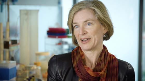 크리스퍼 유전자 가위 기술을 개발해 올해 노벨 화학상을 받은 제니퍼 다우드나 교수 [EPA=연합뉴스]