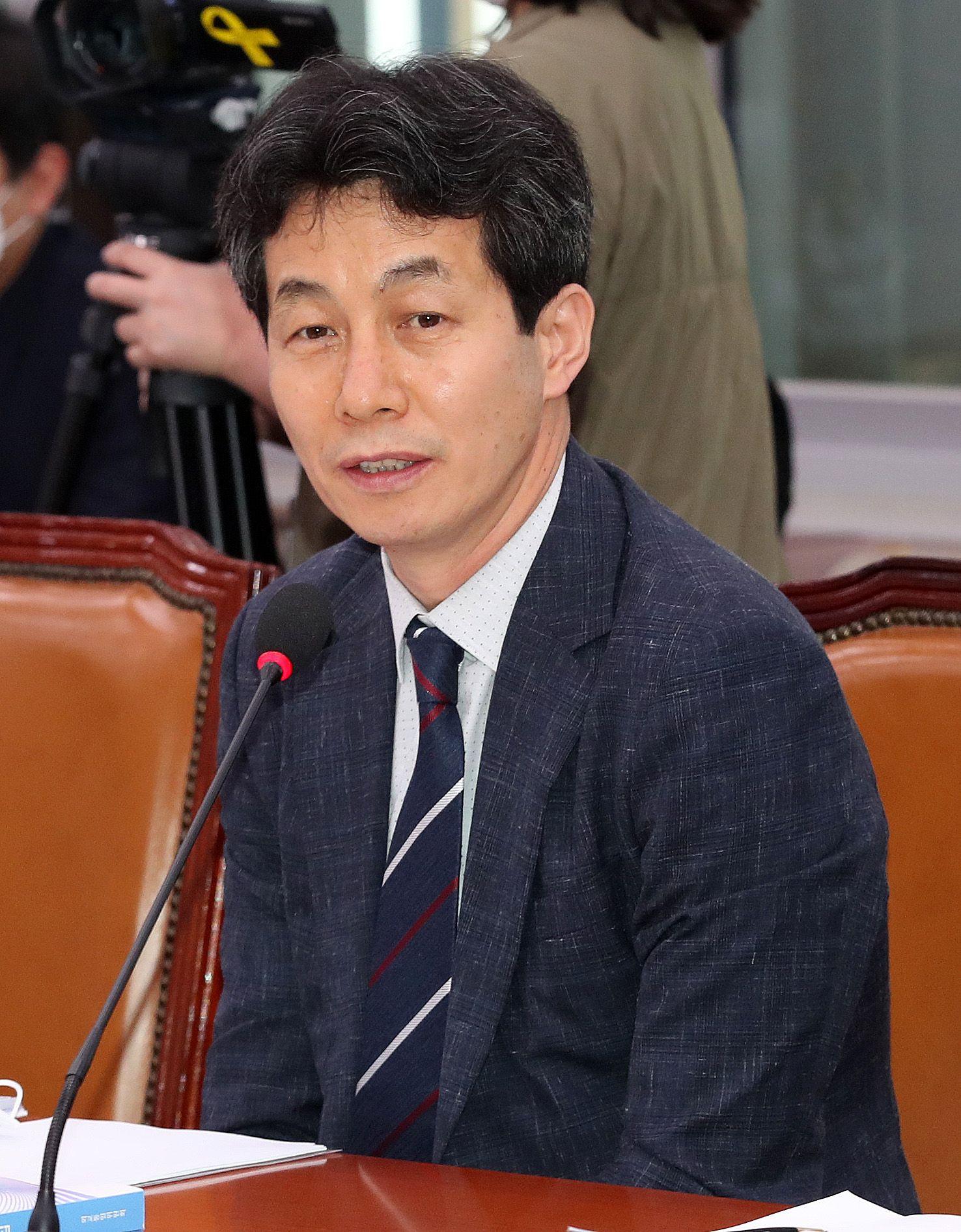 윤건영 더불어민주당 의원. 뉴스1