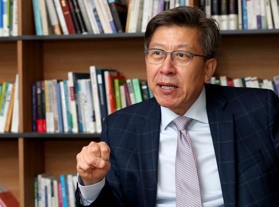 박형준 전 미래통합당 공동선거대책위원장. 최정동 기자
