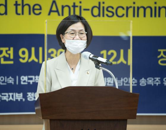 권인숙 더불어민주당 의원. 뉴스1