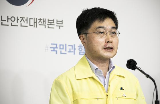 윤태호 중수본 방역총괄반장. 연합뉴스