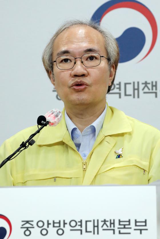 권준욱 중앙방역대책본부 부본부장. 뉴스1