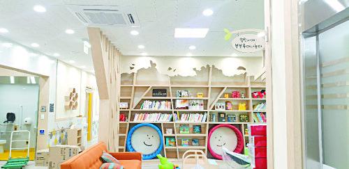 충북 진천의 육아종합지원센터에 말타니가 개발한 살균조명 크린엣지를 설치한 모습. [사진 말타니]