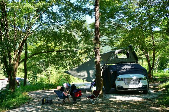비대면 여행이 대세가 되면서 캠핑 문화가 다시 뜨고 있다. [사진 한국관광공사]