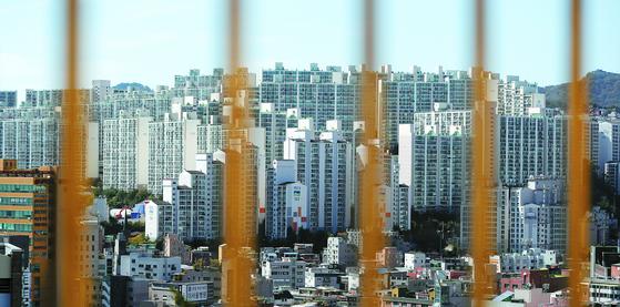지난 6일 서울 강북의 한 아파트 단지 모습. 뉴스1