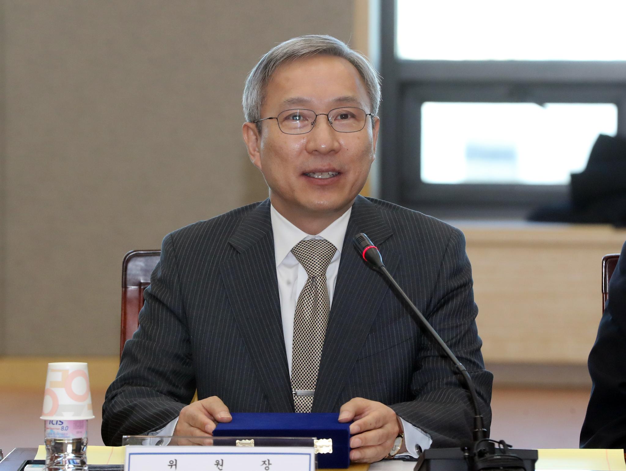 강일원 전 헌법재판관. 연합뉴스