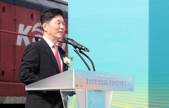김상균 한국철도시설공단 이사장. 연합뉴스