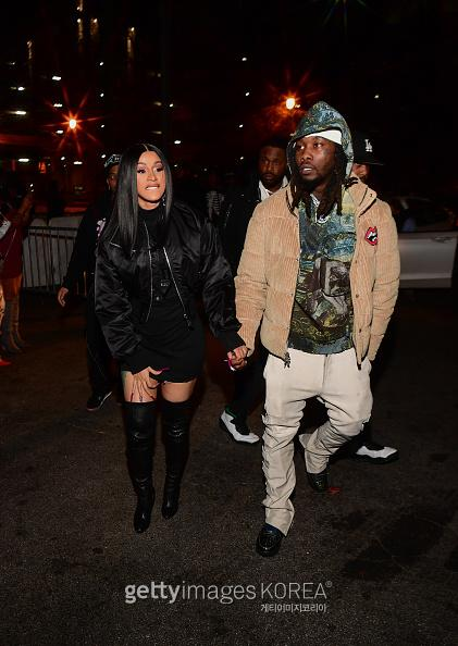 ATLANTA, GA - FEBRUARY 28: Cardi B and Offset attend Hawks vs Nets After Party at Gold Room on February 28, 2020 in Atlanta, Georgia.(Photo by Prince Williams/Wireimage)