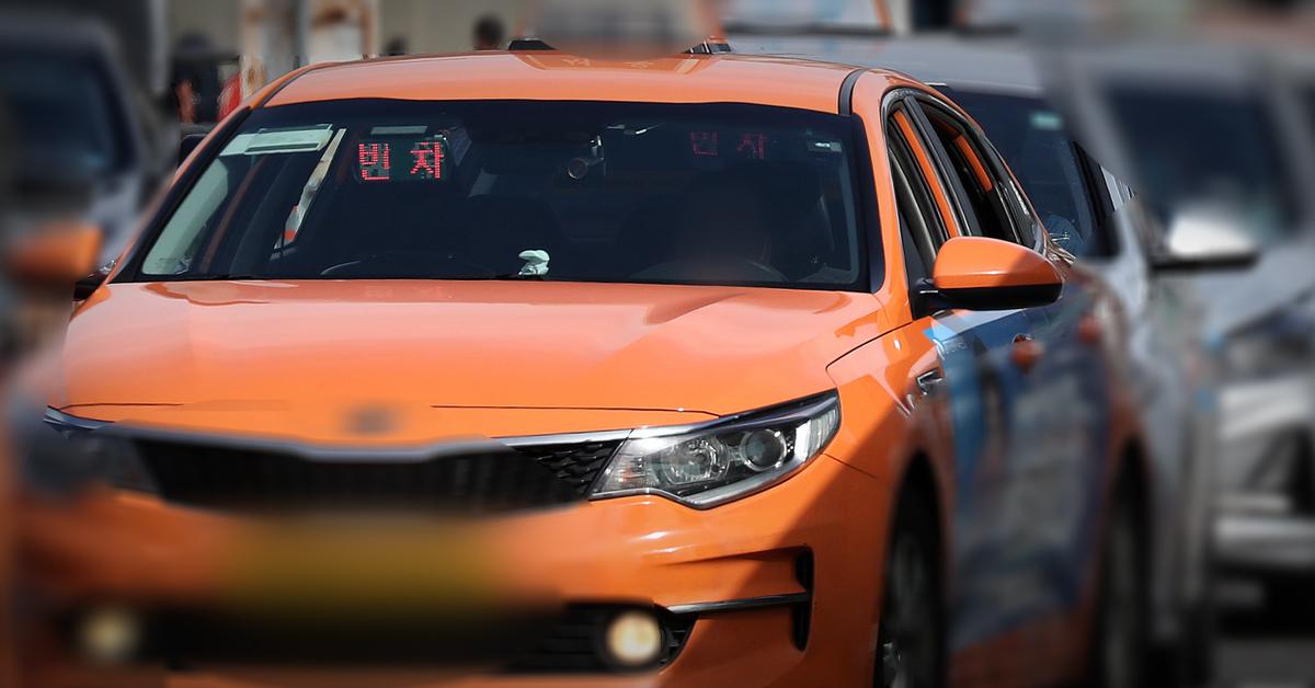 손님을 기다리고 있는 택시. (※이 사진은 기사 내용과 관련 없음). 뉴스1