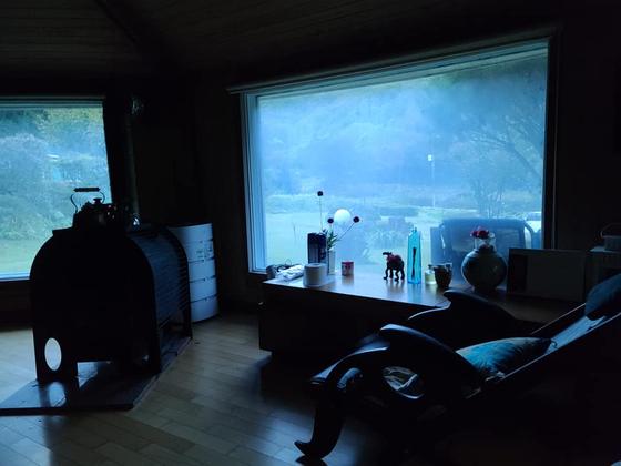 새벽 산막. [사진 권대욱]