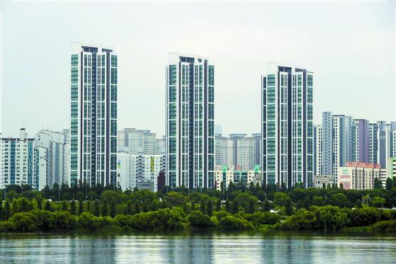 서울 강남지역 아파트단지의 모습. 연합뉴스
