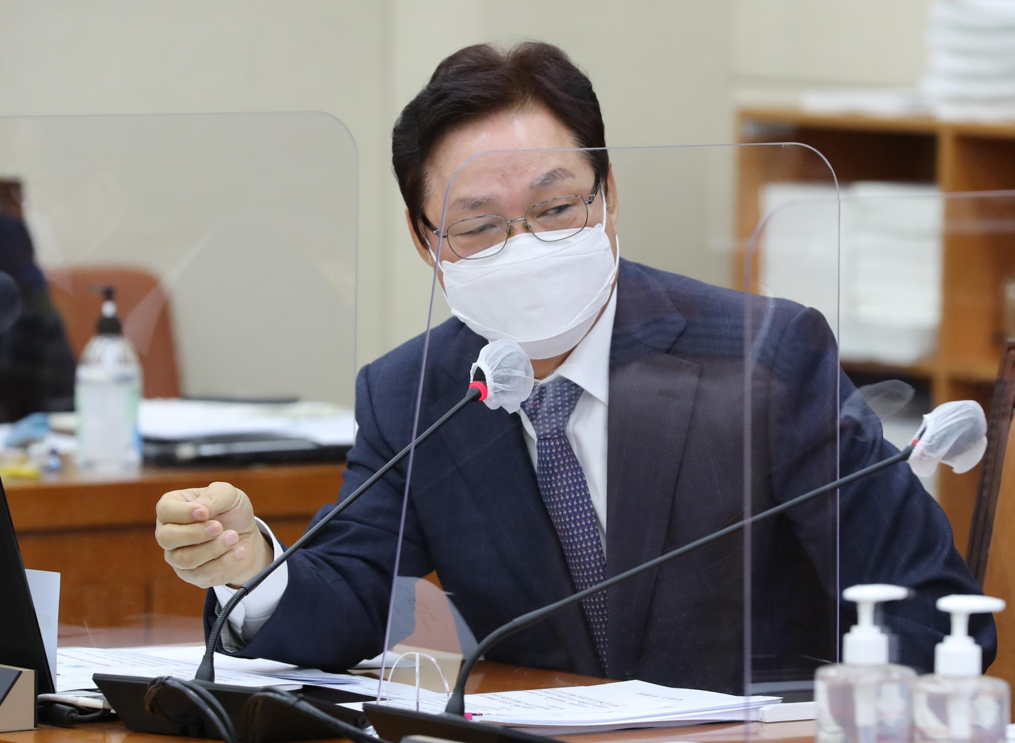 국민의힘 박완수 의원. 중앙포토
