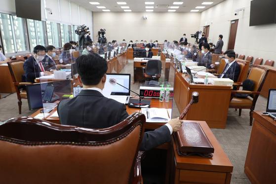 20일 국회 보건복지위원회 국정감사장. 뉴스1