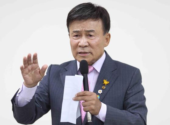 김원웅 광복회장. 연합뉴스