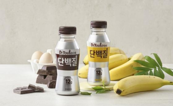 오리온은 지난 6월 닥터유 드링크 출시를 통해 단백질 음료 사업에 진출했다. 사진 오리온