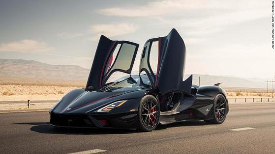 평균 시속 508.73㎞…투아타라, 세계에서 가장 빠른 차