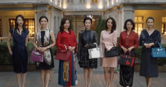 지난 여름 중국에서 폭발적 인기를 끌었던 연속극 '서른 즈음'에는 30세 도시여성 세 명의 삶이 그려져 있다. [중국 바이두 캡처]
