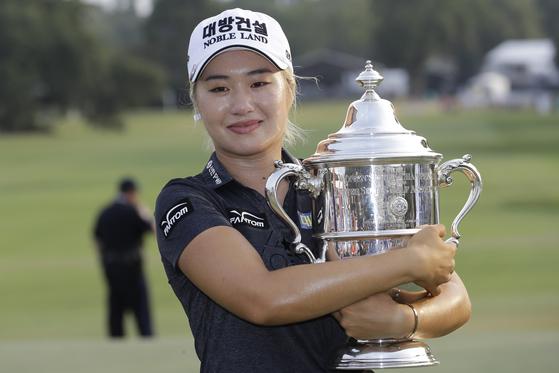 2019 US여자오픈 골프에서 우승한 이정은. [AP=연합뉴스]