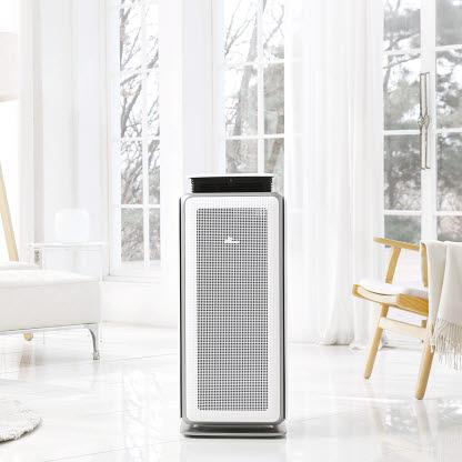 SK매직의 모션 공기청정기는 'CES 2020'에서 혁신상을 수상한 제품이다.