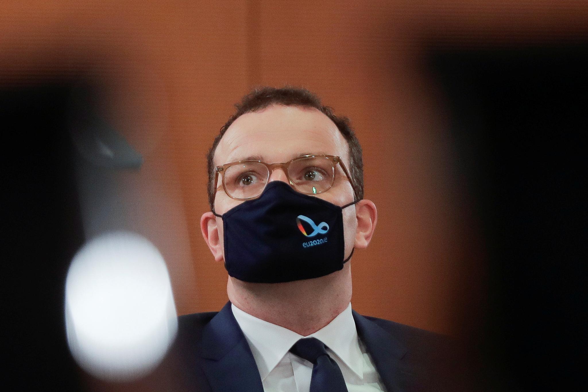 옌스 슈판 독일 보건부 장관이 신종 코로나바이러스 감염증(코로나19) 확진 판정을 받았다. 로이터=연합뉴스