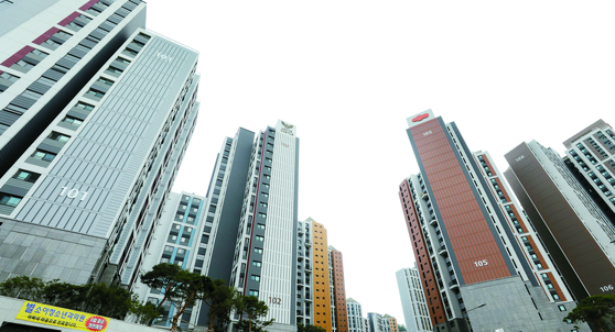 서울 은평구 녹번역e편한세상캐슬 아파트 자료사진. 뉴스1