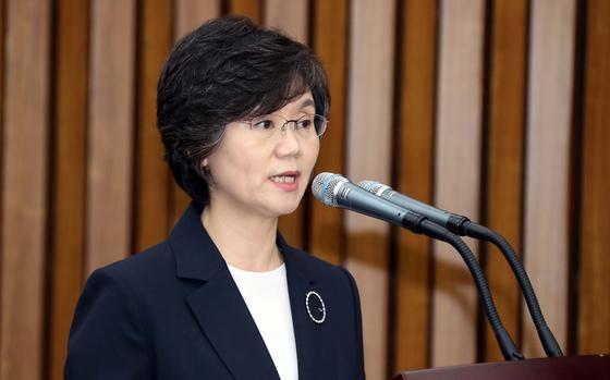 노정희 중앙선관위원장 후보자 자료사진. 변선구 기자