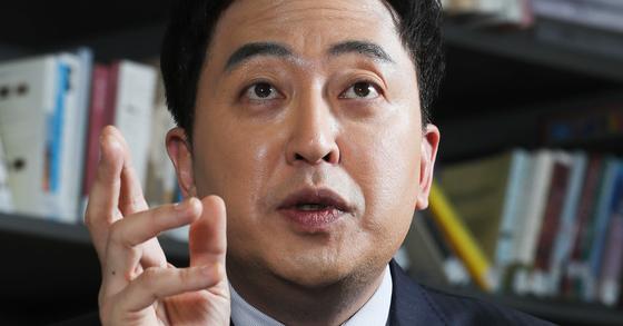 21일 더불어민주당 탈당을 선언한 금태섭 전 의원. [중앙포토]