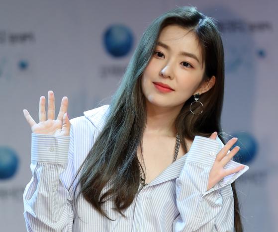 그룹 레드벨벳 멤버 아이린. 일간스포츠