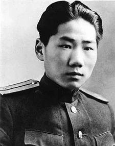 소련군 군복 차림의 마오안잉. 마오쩌둥의 장남이다. 사진=위키피디아