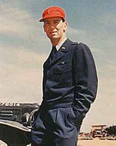 제임스 밴플리트 장군의 아들인 제임스 밴플리트 4세. 6.25전쟁 중 공군 조종사로 북한 순천 지역을 폭격하다 격추돼 실종됐다. 사진=한국전쟁 프로젝트