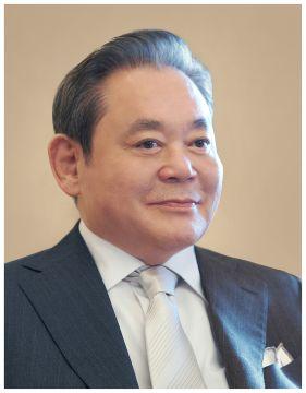 삼성그룹 이건희 회장 〈삼성전자 제공〉