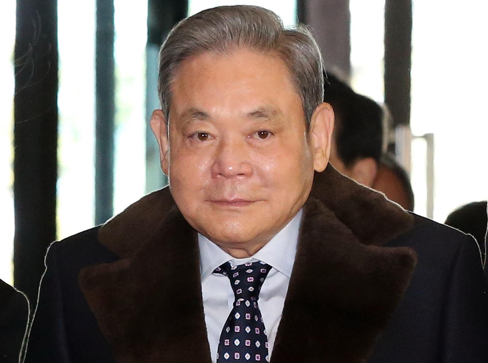 이건희 삼성 회장. 연합뉴스