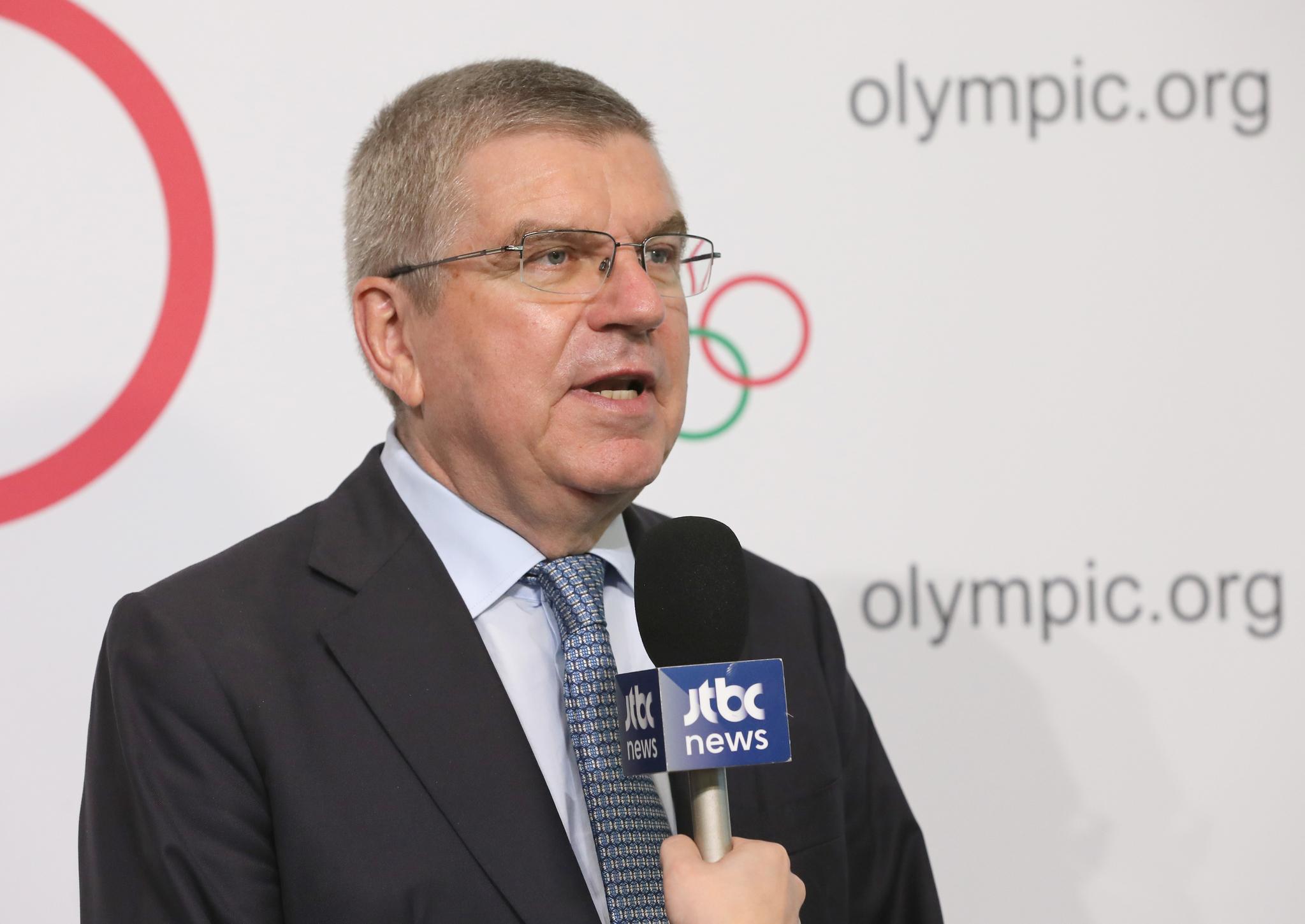 토마스 바흐 IOC 위원장. [중앙포토]