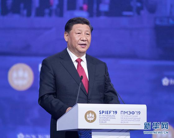 시진핑은 2012년 11월 중국 공산당 총서기가 돼 중국의 1인자가 됐지만 8년이 지난 지금도 계속 권력 강화를 꾀하고 있다. [중국 신화망 캡처]