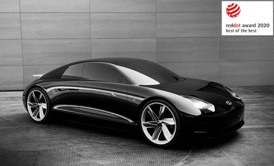 2020 레드닷 어워드에서 디자인 콘셉트 분야 모빌리티·수송 부문에서 최우수상을 받은 현대차의 전기차 콘셉트카 프로페시. 사진 현대자동차