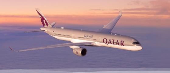 카타르 항공 여객기. 홈페이지 캡처