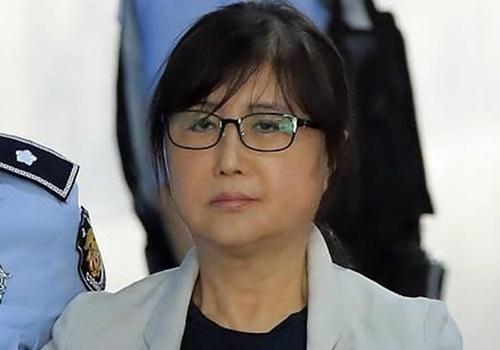 최서원씨(개명 전 최순실). 연합뉴스