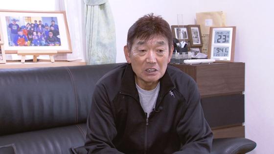 미야기 현 호야 양식을하고있는 아베 쓰기 씨가 지난 23 일 본지와 인터뷰를하고있다.윤소루요운 특파원