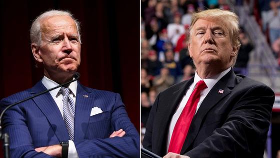 도널드 트럼프 대통령(오른쪽)과 조 바이든 민주당 대선 후보. [폴리티코]