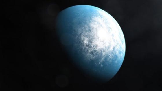 101.4광년 밖 TOI-700d에 대한 상상 이미지. [인터넷 캡처]