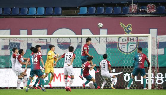 프로축구 대전하나시티즌에서 코로나19 확진자가 나왔다. (사진은 기사 내용과 관계 없음). [뉴스1]
