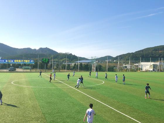 제56회 대학축구연맹전 8강전. 한국대학축구연맹